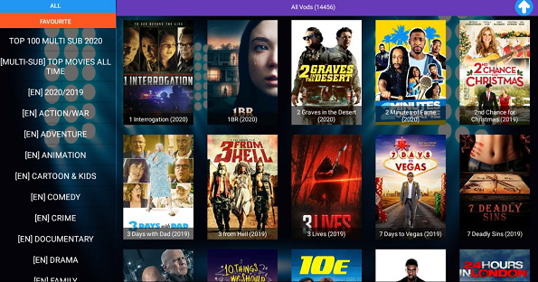 What is VOD - IPTV 12 Months Subscription