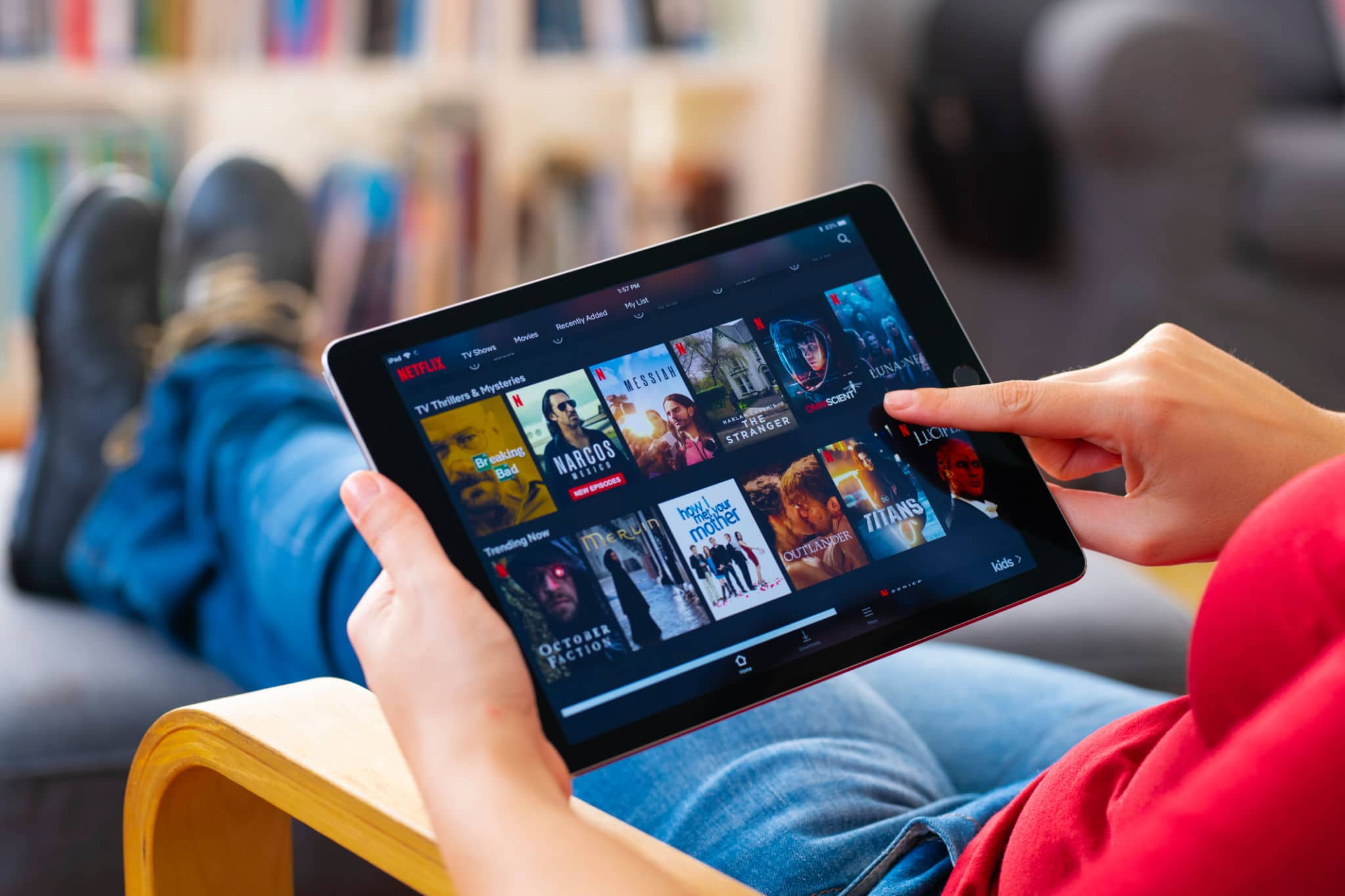 Watch Netflix series IPTV Premium