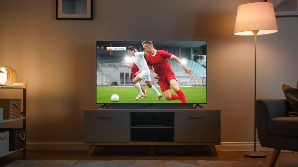 Watching sport matches